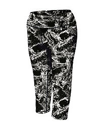 Champion Women's Plus Absolute Printed Capris With SmoothTec™ Waistband