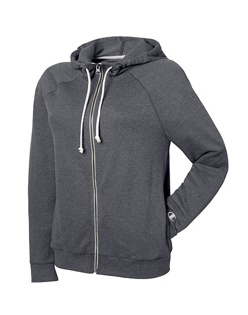 4b818e3d511 Champion Women s Plus French Terry Full Zip Hoodie