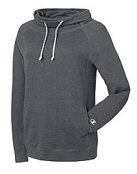 Champion Women's Plus French Terry Funnel Neck Top