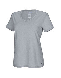 Champion Women's Plus Jersey V-Neck Tee