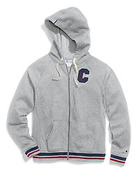 Champion Women's Plus Heritage Fleece Zip Hoodie, Block C