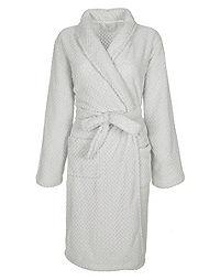 Capelli New York® Puffy Shawl Collar Robe