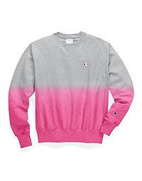 Champion Life® Reverse Weave® Ombre Dip-Dye Crew