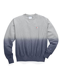 Champion Life® Reverse Weave® Ombre Dip-Dye Crew