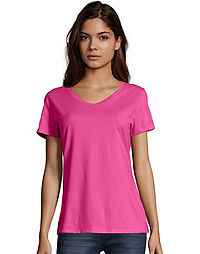 8e77be9431 Hanes Women s Nano-T® V-Neck T-Shirt
