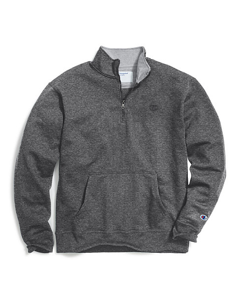22f47be1 PowerBlend 1/4 Zip Pullover | Mens Activewear | Champion
