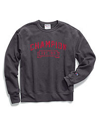 Champion Men's Heritage Fleece Crew, Logo with 1919