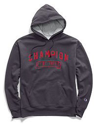 Champion Men's Heritage Fleece Pullover Hoodie, Logo 1919