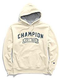 Champion Men's Heritage Fleece Pullover Hoodie, Logo 1919