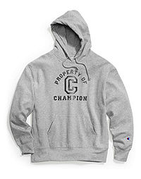 Champion Men's Heritage Fleece Pullover Hoodie, Property of Champion