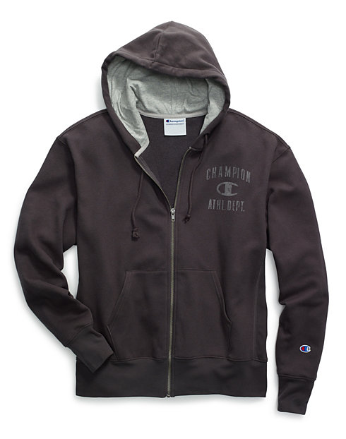 ef15098c60f9 Champion Men s Heritage Fleece Zip Hoodie