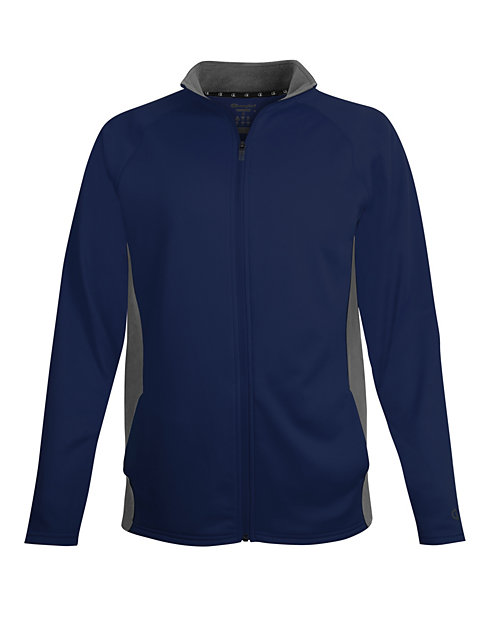 Champion Men's Performance Fleece Full Zip Jacket