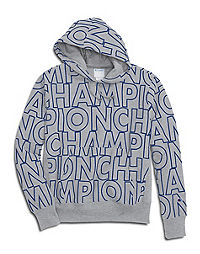 3d2ee94b Champion Life® Men's Reverse Weave® Pullover Hoodie, All Over Logo