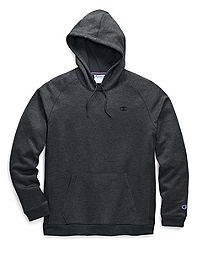 Champion Men's Stadium Fleece Pullover Hood, C Logo