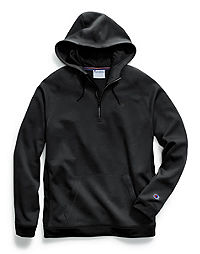 Champion Men's Stadium Fleece Quarter Zip Hood