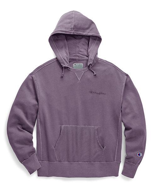 11bb0ab22dbd Champion Men's Vintage Dye Fleece Pullover Hoodie, Embroidered Logo |  Champion