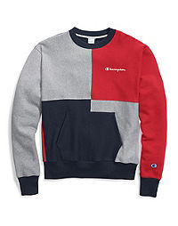 Champion Life® Men's Reverse Weave® Colorblock Crew With Pouch