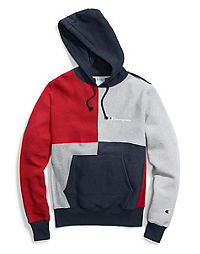 Champion Life® Men's Reverse Weave® Colorblock Pullover Hood