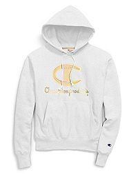 Exclusive Champion Life® Men's Hood, Chainstitch C Logo