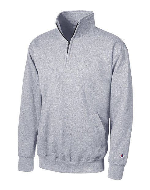 Champion Eco® Double Dry®  Fleece Quarter-Zip Pullover