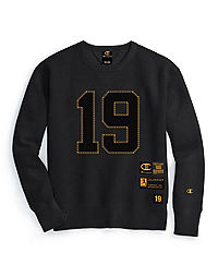 Champion Century Collection Men's Crew, Gold 19