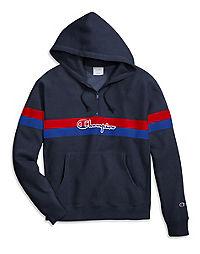Champion Life® Men's Reverse Weave® Yarn Dye Half Zip Hoodie