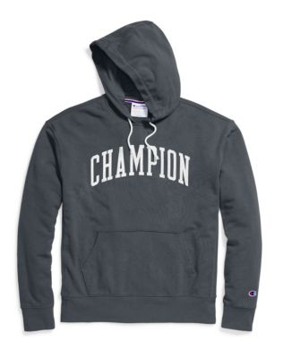 767e398ba Champion Men's Heritage French Terry Pullover Hoodie, Arch Logo