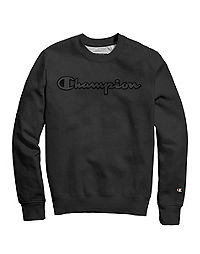 Champion® Men's Super Fleece 2.0 Crew, Furry Logo