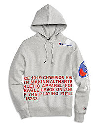 Champion® Men's Super Fleece 2.0 Pullover Hood, Behind the Label