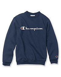 7267c9077fb5 Champion Double Dry® Action Youth Fleece Logo Sweatshirt