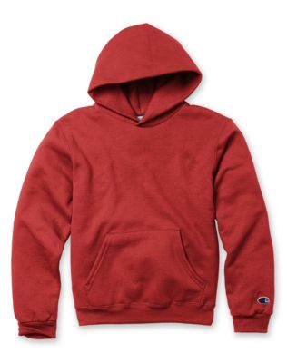 Champion Eco® Youth Double Dry® Fleece Pullover Hoodie