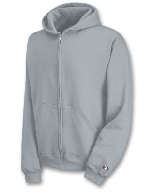 Champion Eco® Youth Double Dry® Fleece Full Zip Hoodie