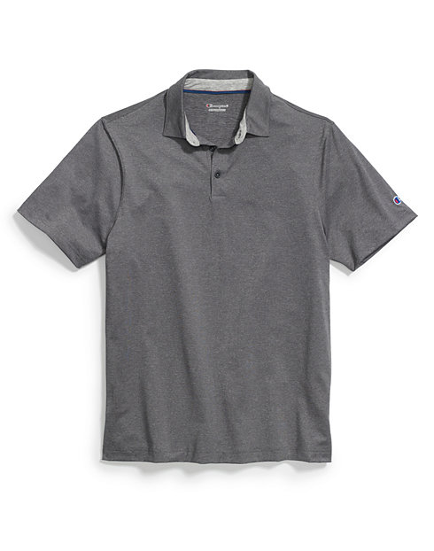 Champion Men's Heather Performance Golf Polo