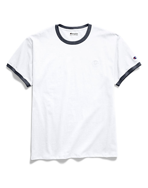 a155bdaee Ringer T Shirt | Mens Activewear | Champion