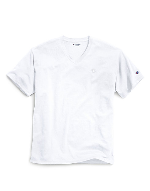 Champion Men's Classic Jersey V-Neck