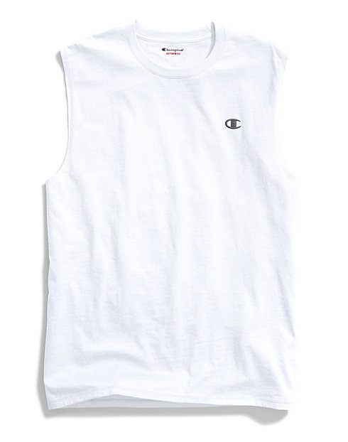 76af7eae6bd3 Champion Men's Muscle Tee - Classic Cotton | Champion.com