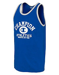 Champion Men's Ringer Tank, Homebase Graphic