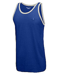 Champion Men's Classic Cotton Ringer Tank