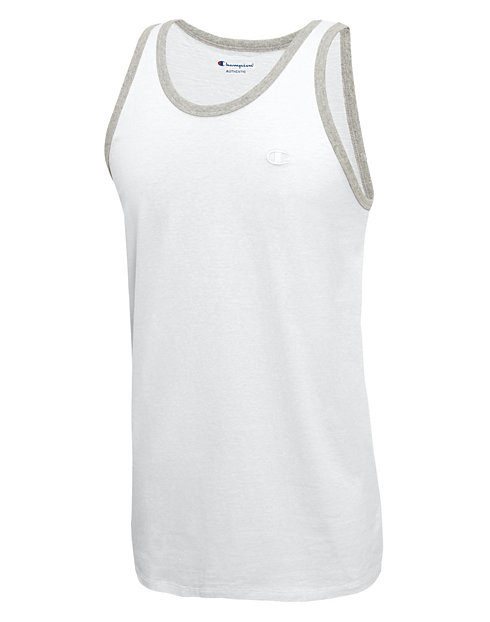 859855992c83 Champion Men s Ringer Tank Top - Classic Cotton