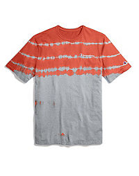 Champion Life® Men's Reverse Weave™ Streak Dye Tee, Embroidered Logo