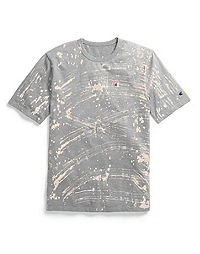 Champion Life® Men's Custom Bleach Splatter Tee