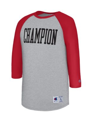Champion Men's Heritage Baseball Slub Tee