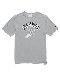 Champion Men's Heritage Slub Tee, Collegiate Winged Foot
