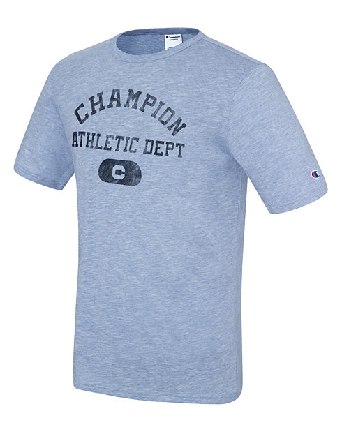 Champion Men's Heritage Slub Tee, Athletics Dept.