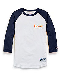Exclusive Carrots University by Champion Life® Baseball Tee