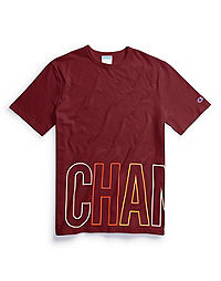 Champion Life® Men's Heritage Tee, Multi-Color Wraparound Logo