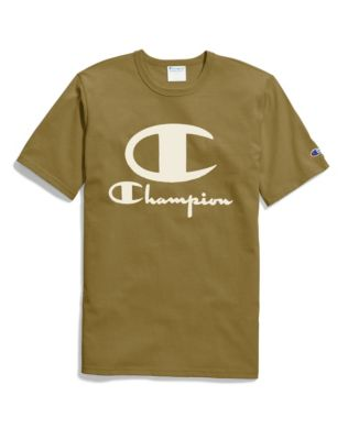 Champion Life® Men's Heritage Tee, Furry Logo