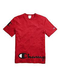 Champion Life® Men's Heritage Tee, Wraparound Logo