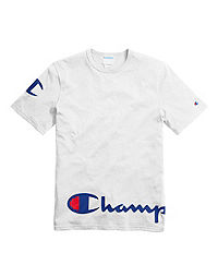 bd0afcff62ad Champion Life® Men's Heritage Tee, Wraparound Logo. NEW. White Color ...