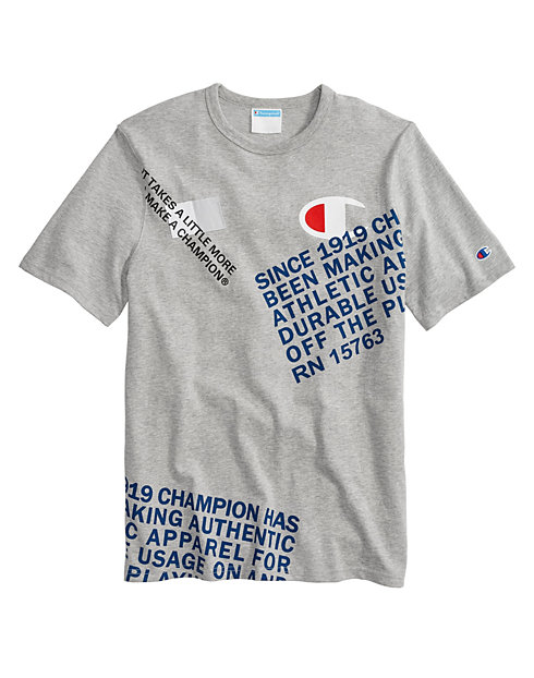 Champion Life® Men's Behind the Label Heritage Tee